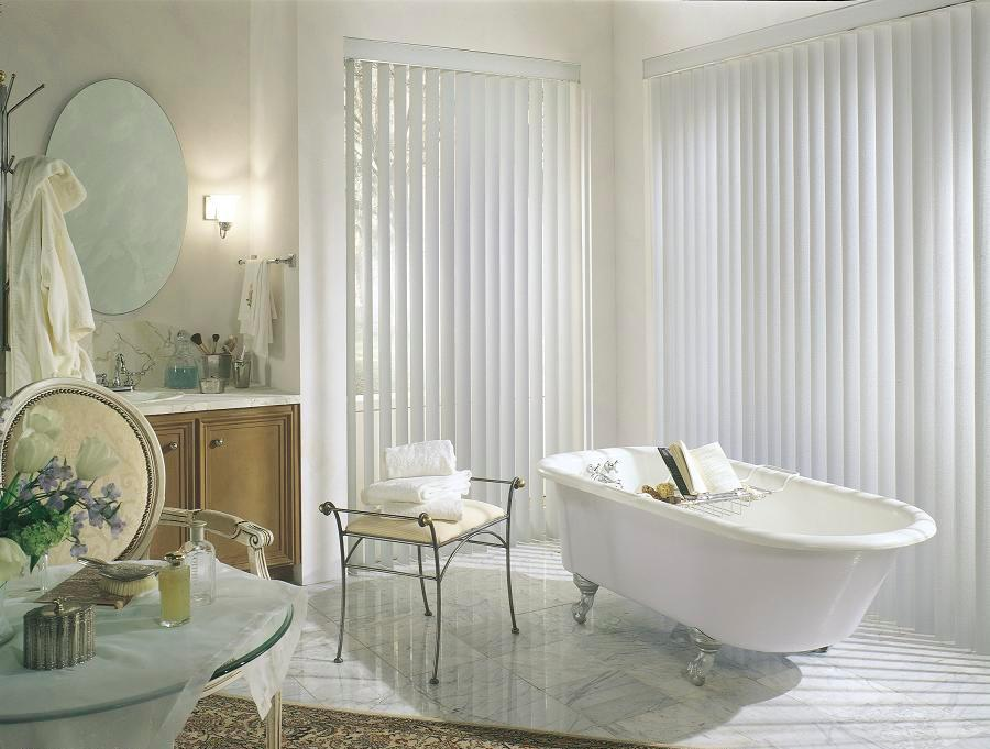 Replacing bathroom blind slats vertical blind slats for What type of blinds for bathroom