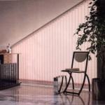 vertical blind slats for angled or sloping windows
