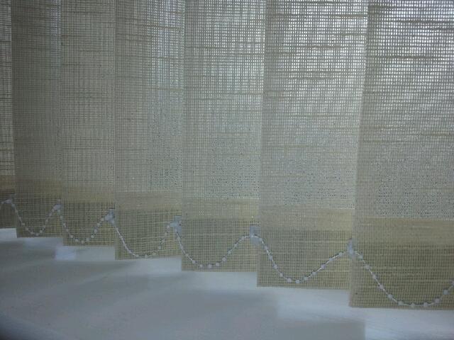 vertical blind slats are versatile in interior design